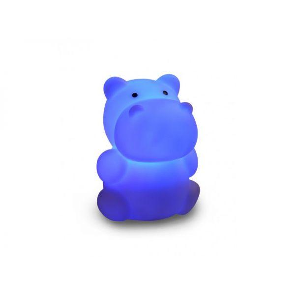 Luz de Noche Recargable Hipopótamo de Isi Mini