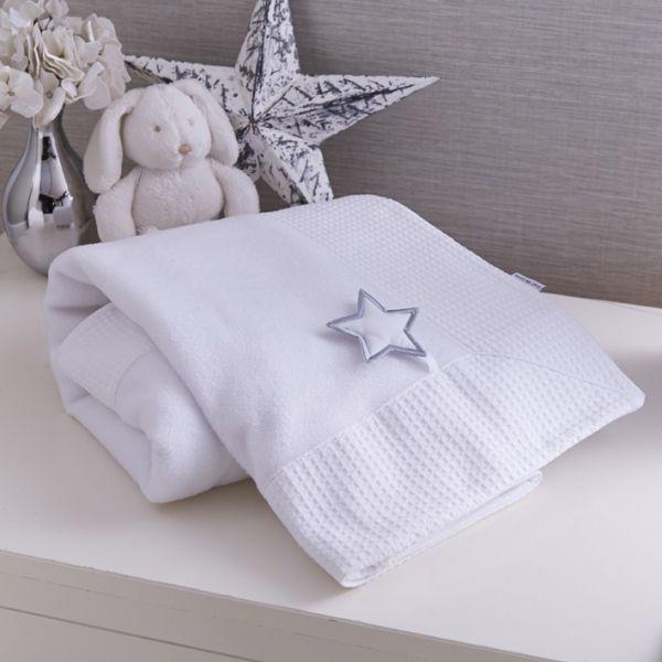 Manta para Bebé Estrella Plateada - Clair de Lune