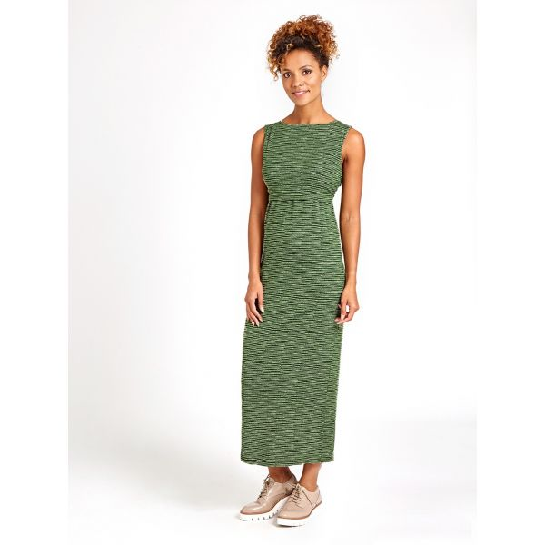 Maxi Dress Premamá y Lactancia Khaki