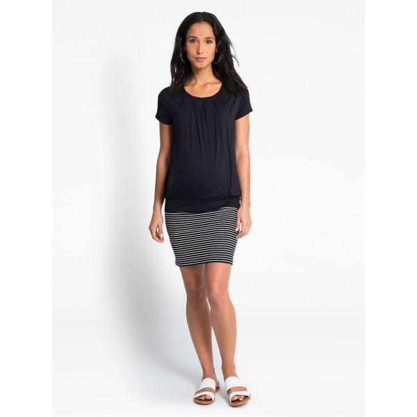 Minifalda Premamá a Rayas de verano