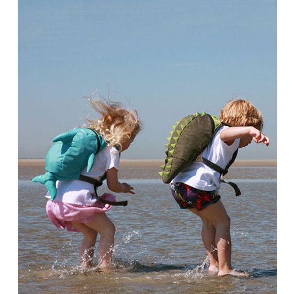 Mochila Impermeable para Niños LittleLife Cocodrilo