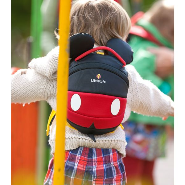 Mochila Infantil Mickey de LittleLife con Arnés