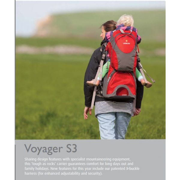 Mochila Portabebés Littlelife Voyager S3