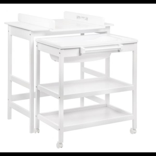 Mueble de Baño Cambiador con Bañera Quax Smart Tris Blanco