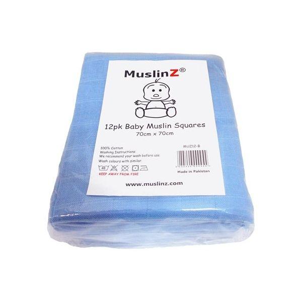 Muselinas de Alta Calidad Muslinz - Pack de 12