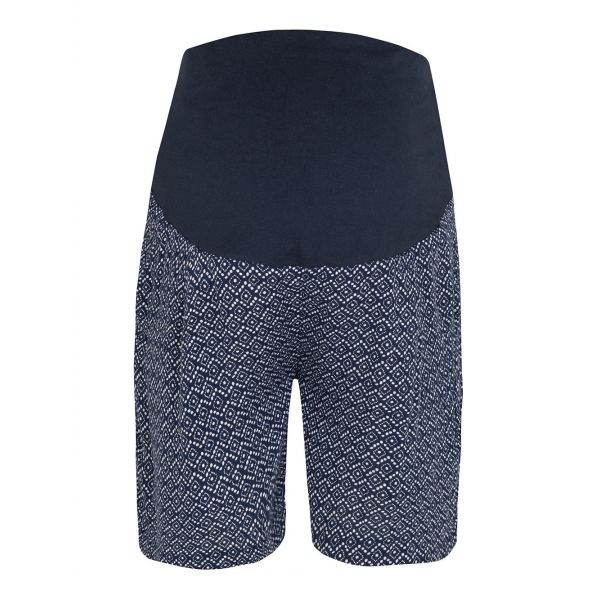 Pantalón corto Premamá Estampado Navy Batik