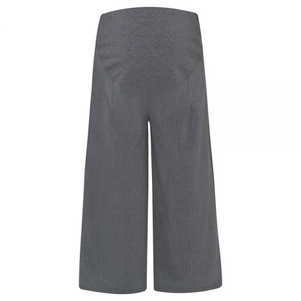 Pantalón Culotte Premamá gris