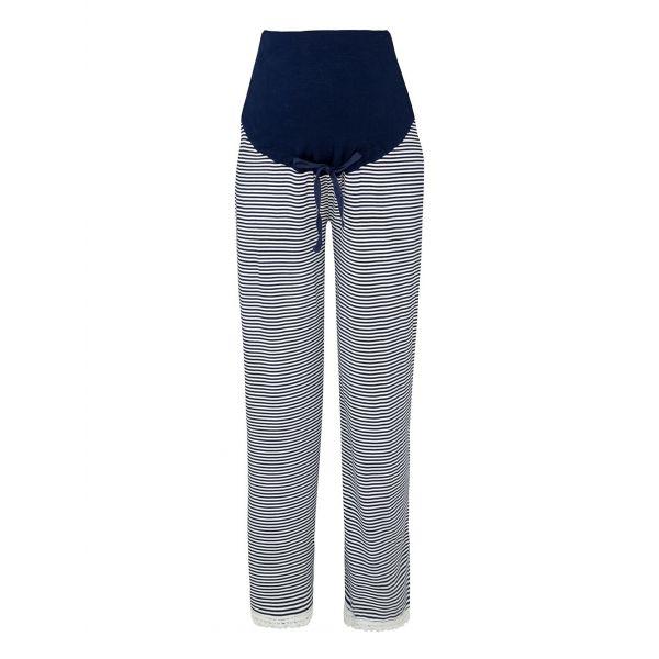 Pantalón Pijama Premamá a Rayas Azules