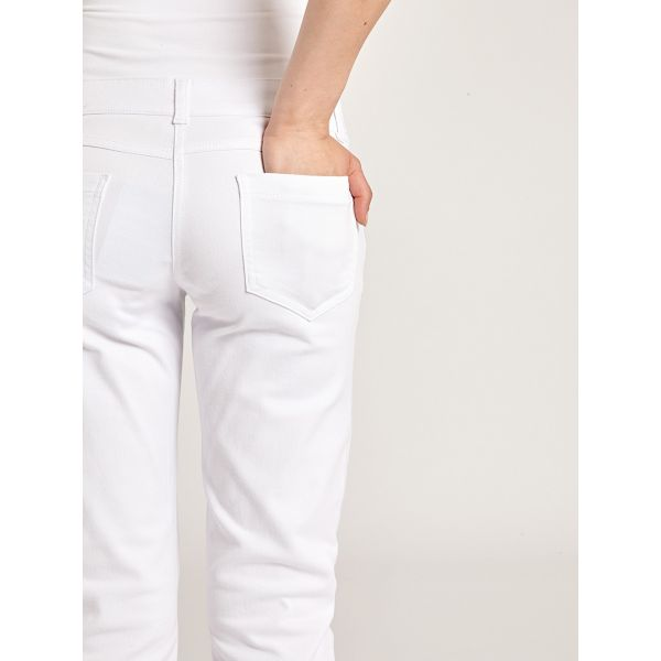 Pantalón Premamá Pirata Blanco