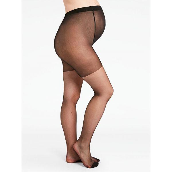 Panties Premamá Negros Denier 15. Pack de 2 Unidades