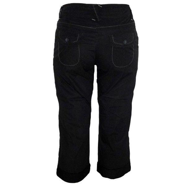 Pantalón Capri Premamá Negro