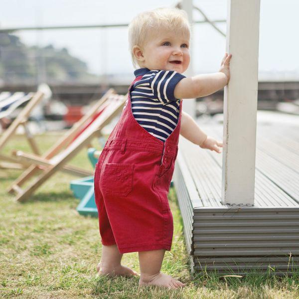 Pantalón Corto de Peto para Bebés