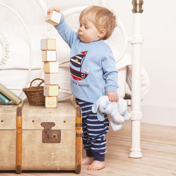 Pijama para Niños estilo Marinero