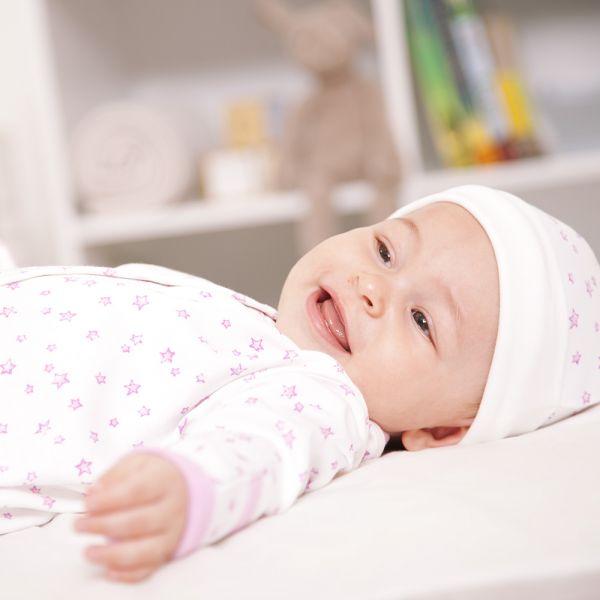 Pijama Bebé Estrellitas Rosas
