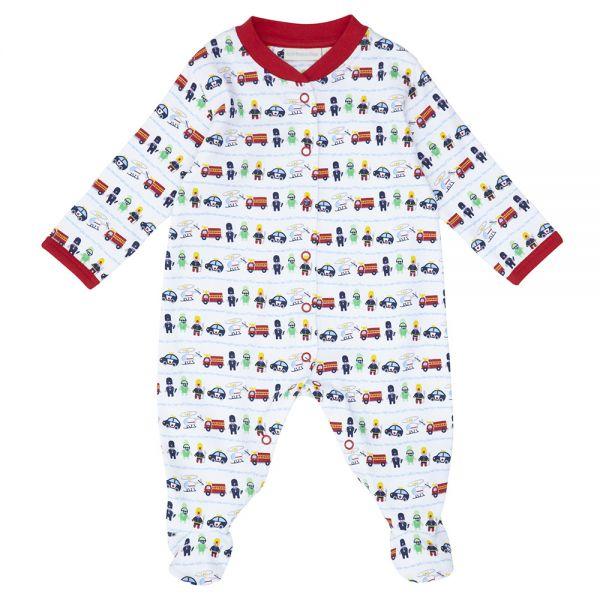 Pijama Bebé  Estampado Bomberos