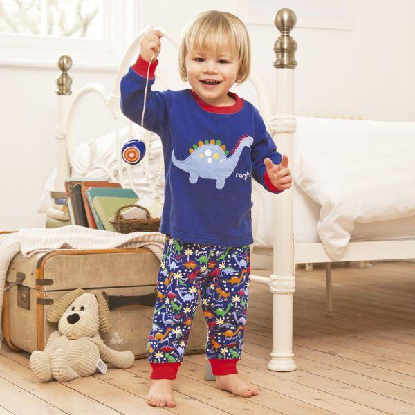 Pijama para niños de Dinosaurio