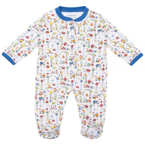 Pijama Bebé Estampado Construcciones