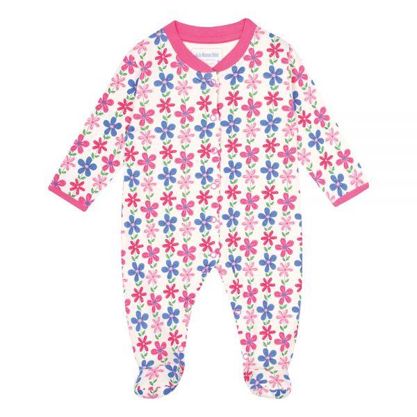 Pijama Bebé Flores Escandinavas