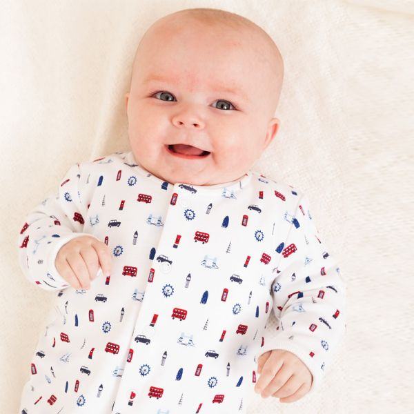 Pijama Bebé Estampado Londres