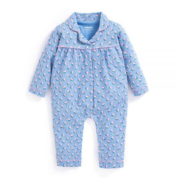 Pijama Bebé Niña 1 Pieza Estampado Floral