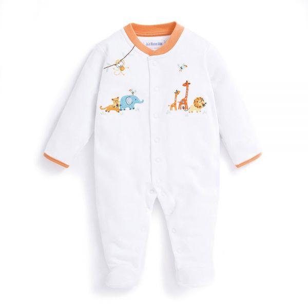 Pijama Bordado Bebés Safari