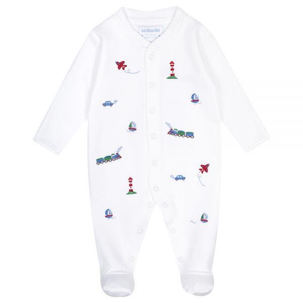 Pijama Bordado para Bebés Transportes