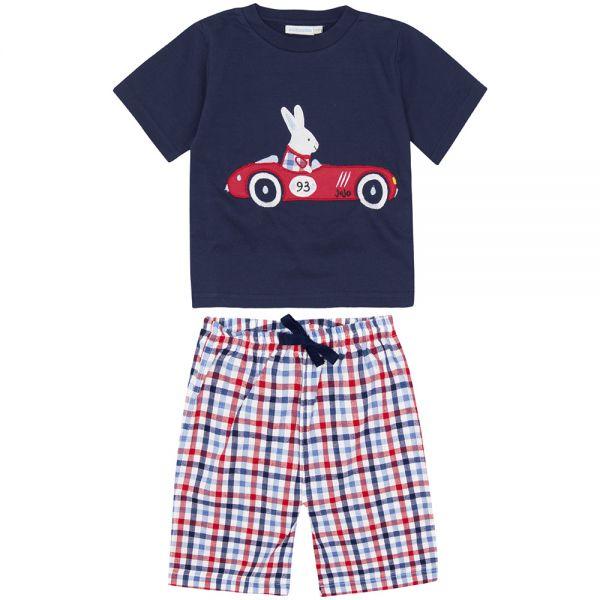 Pijama Corto de Niño Coche de Carreras