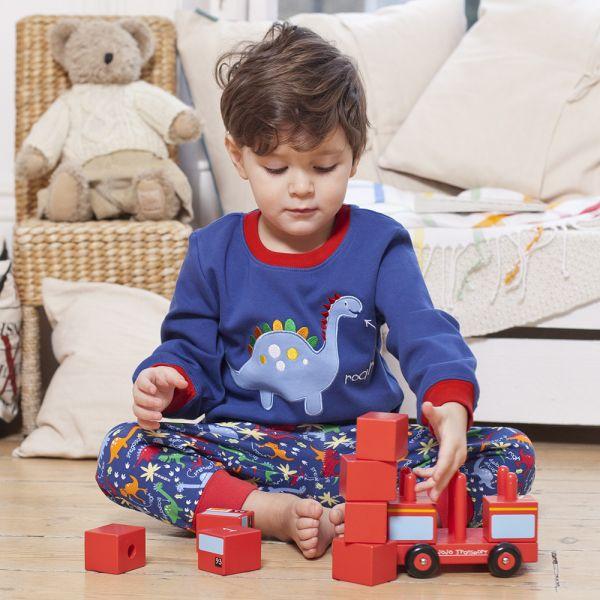 Pijama para niños de Dinosaurios