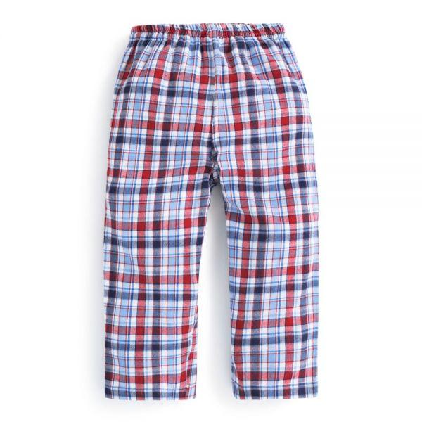 Pijama Invierno para Niños Dinosaurio a Cuadros