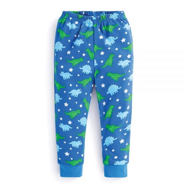 Pijama Niño Azul Dinosaurios - Brilla en la Oscuridad