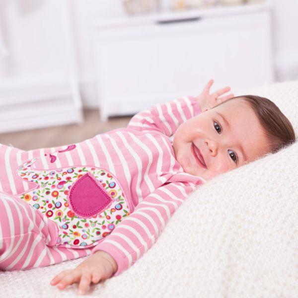 Pijama Bebé Elefantes Rosa