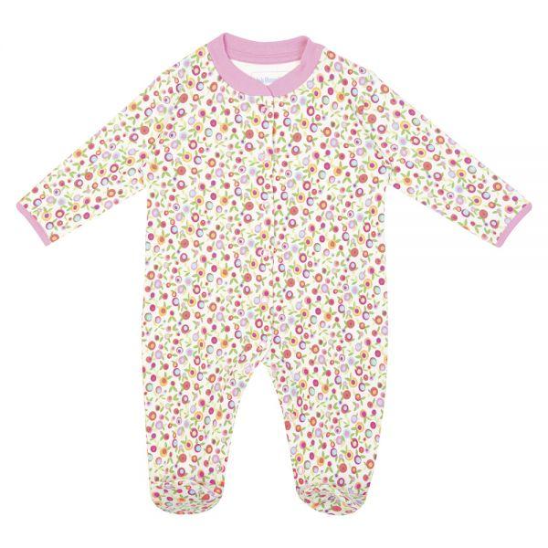 Pijama para Bebés Estampado Cerezas