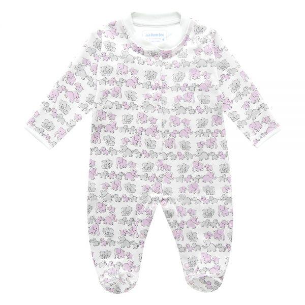 Pijama para Bebés Familia de Elefantes