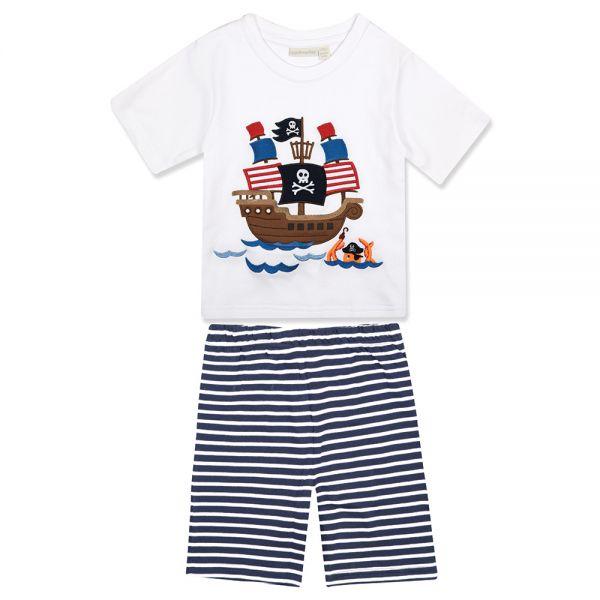 Pijama Niño Barco Pirata