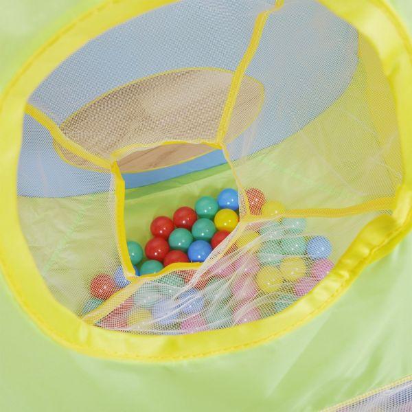 Piscina bolas ni os con 100 bolas knorr baby shopmami - Piscina de bolas para bebes ...