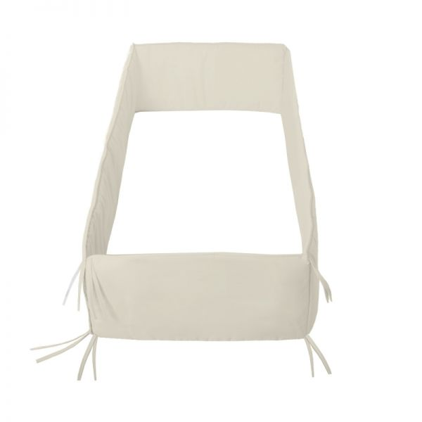 Protector Cuna beige Liso 360 beis - Cambrass