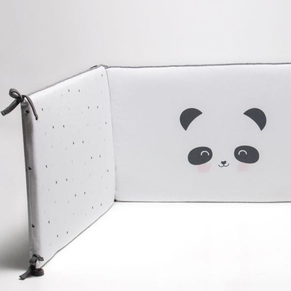 Protector de Cuna Panda rosa - BonJourBebe
