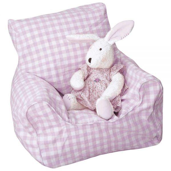 Puff Infantil rosa