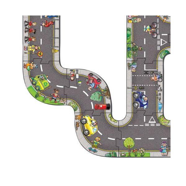 Puzzle de Suelo Encajable City