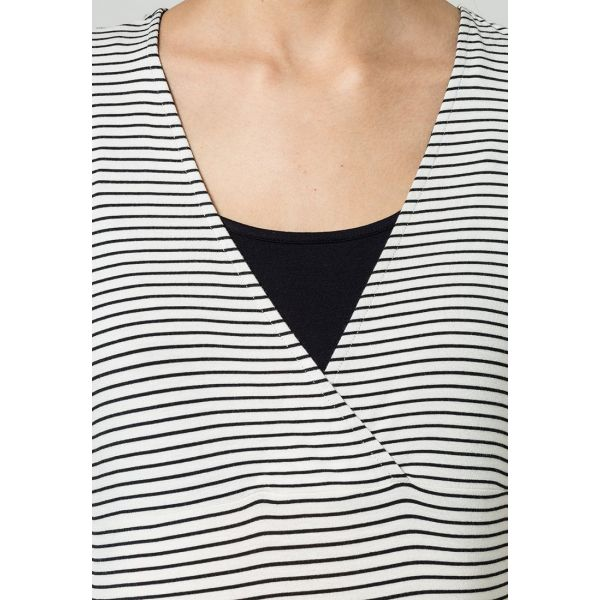 Camiseta Pijama Embarazo Stripe Noppies
