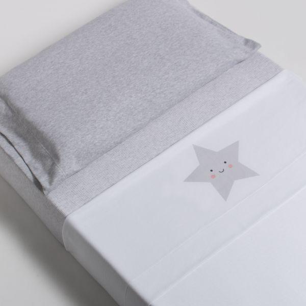 Sábana de Minicuna Estrella - BonJourBebe