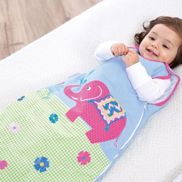 Saco de dormir Bebé 2.5 Tog elefantes