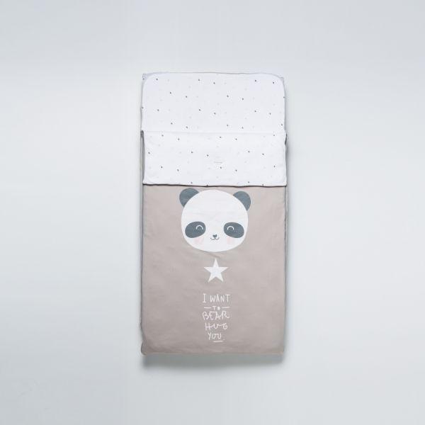 Saco para Cuna 60 x 120 cm Panda