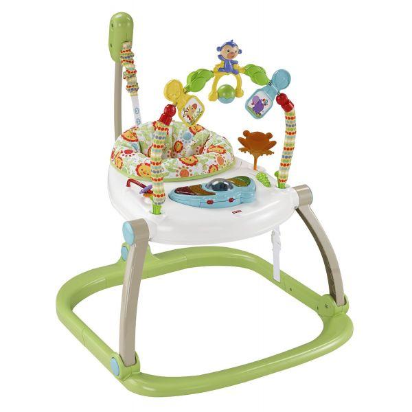Saltador para Bebés de Fisher Price Rainforest Plegable