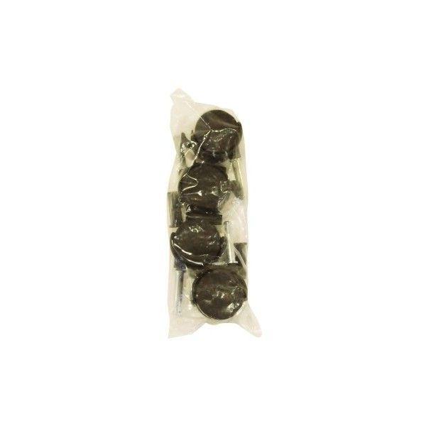 Set de Ruedas de Plástico 40mm