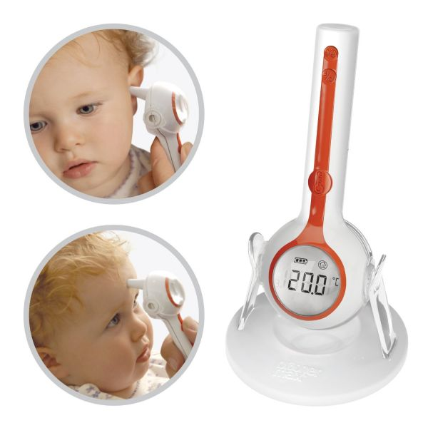 Termómetro digital de oído 3 en 1