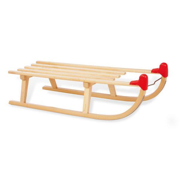 Trineo de madera para la Nieve Davos - Pinolino