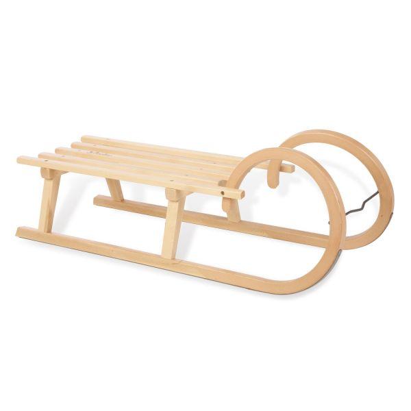 Trineo de madera para la Nieve Horner - Pinolino
