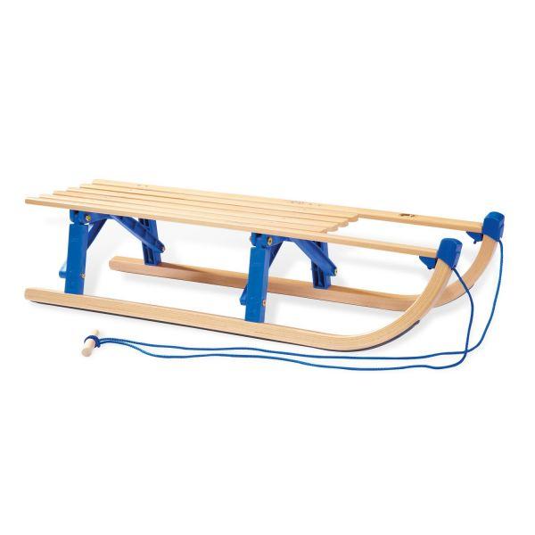 Trineo de madera Plegable Davos - Pinolino