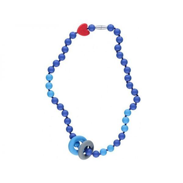 Collar Mordedor Twiggy Azul de SmartMama
